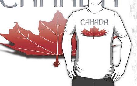 Canada tee shirt