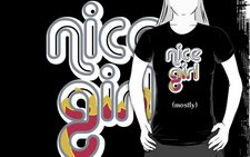 Nice Girl-dark tees