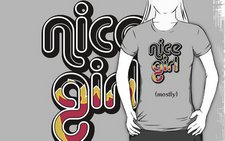 Nice Girl-light tees